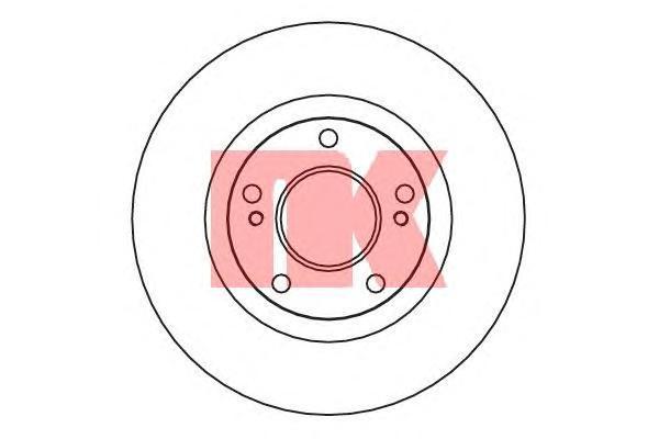 Диск тормозной NK 202267 комплект 2 шт202267