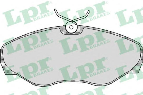 Колодки тормозные пер LPR / AP 05P86905P869