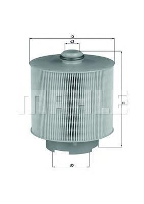 Фильтр воздушный Mahle/Knecht LX10061DLX10061D