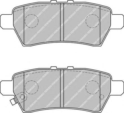 Колодки тормозные дисковые Premier Ferodo FDB1882FDB1882