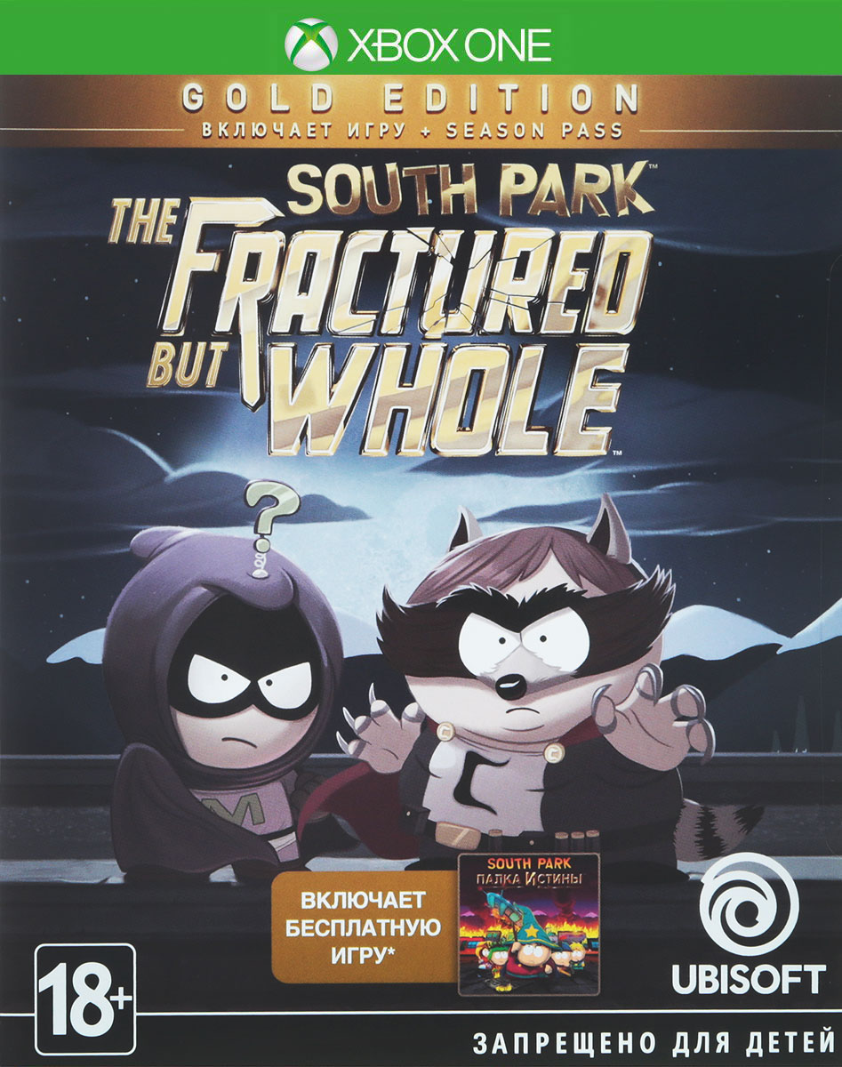 South Park: The Fractured but Whole. Gold Edition (Xbox One) south park the fractured but whole gold edition [xbox one]