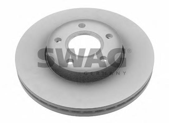 Диск тормозной передний Swag 50924 комплект 2 шт50924