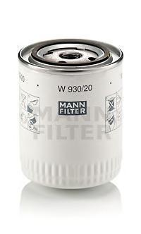 Масляный фильтр Mann-Filter W93020W93020