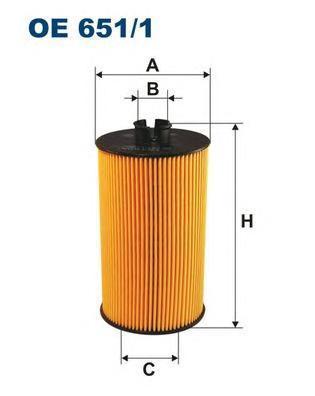 Фильтр масляный Filtron. OE6511OE6511