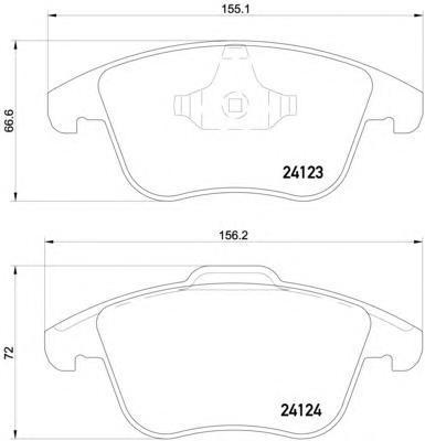 Колодки тормозные дисковые, комплект BEHR-HELLA 8DB3550128918DB355012891