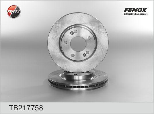 Fenox Диск тормозной. TB217758TB217758