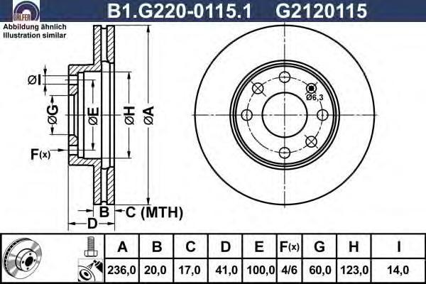Диск тормозной Galfer B1G22001151 комплект 2 штB1G22001151