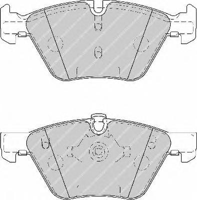 Колодки тормозные дисковые Premier Ferodo FDB1773FDB1773