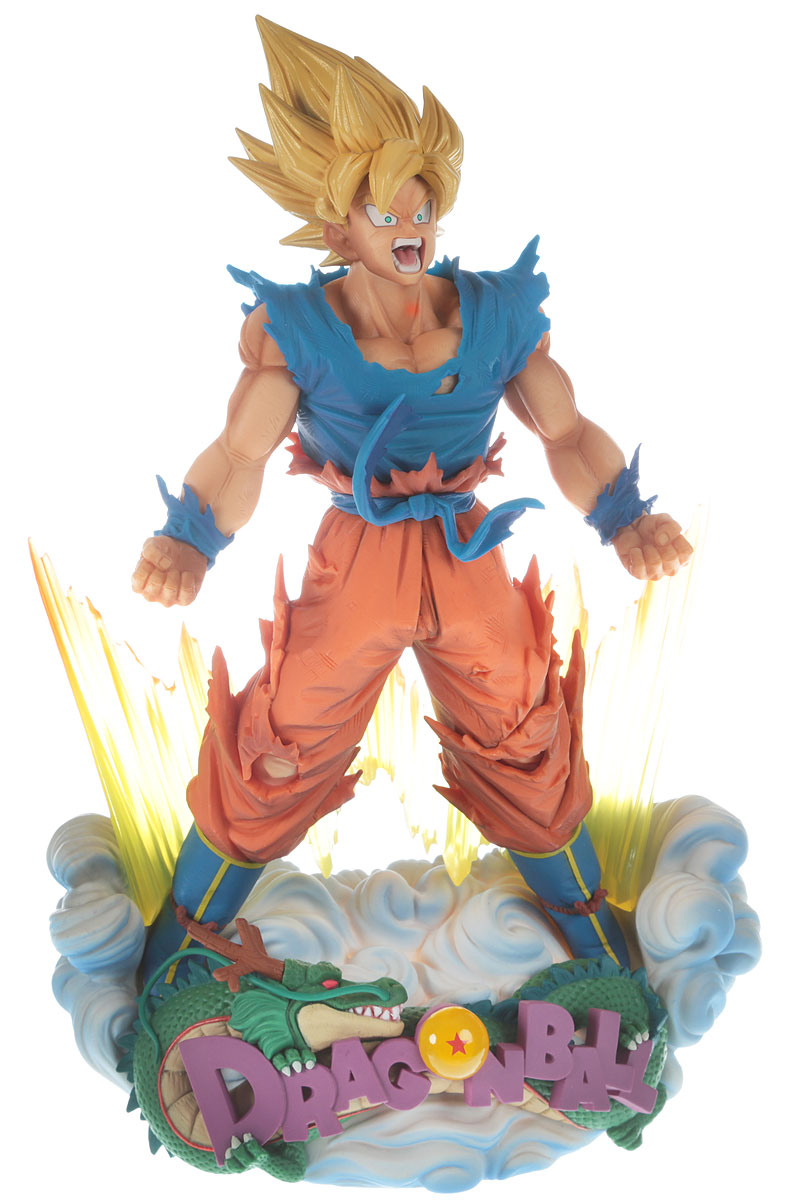 Bandai Фигурка Dragon Ball Z Super Master Stars Diorama The Son Goku anime dragon ball z original bandai tamashii nations figuarts zero ex exclusive collection figure super saiyan 3 son goku