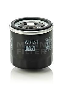Масляный фильтр Mann-Filter W67W67