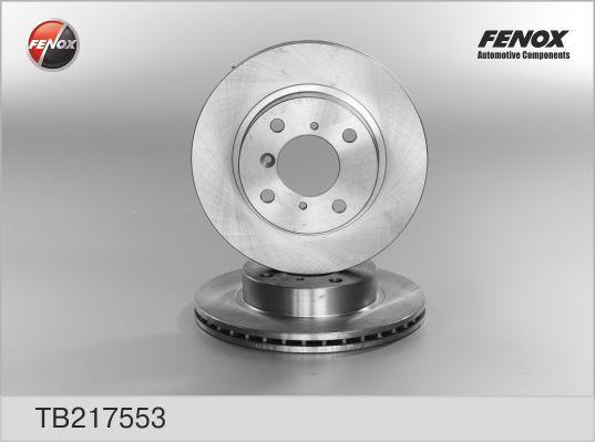Диск тормозной Fenox TB217553 комплект 2 штTB217553