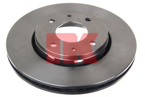 Диск тормозной NK 204839 комплект 2 шт204839