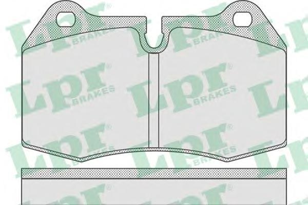 Колодки тормозные LPR / AP 05P76905P769