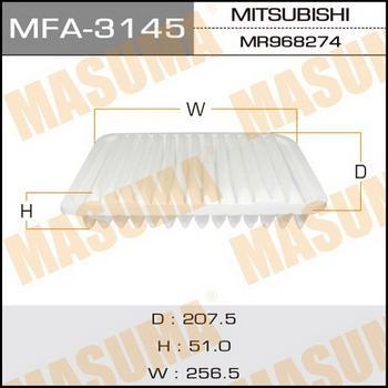 Фильтр воздушный Masuma MFA3145MFA3145