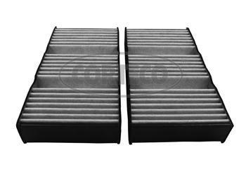 Фильтр салона (угольный комплект 2шт) CORTECO 8000455280004552