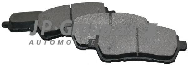 Group Колодки тормозные дисковые задние JP Group 15637006101563700610