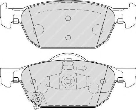 Колодки тормозные дисковые Premier Ferodo FDB4269FDB4269