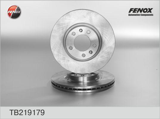 Fenox Диск тормозной. TB219179TB219179