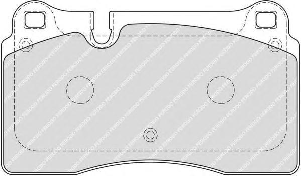 Колодки тормозные дисковые Premier Ferodo FDB1877FDB1877