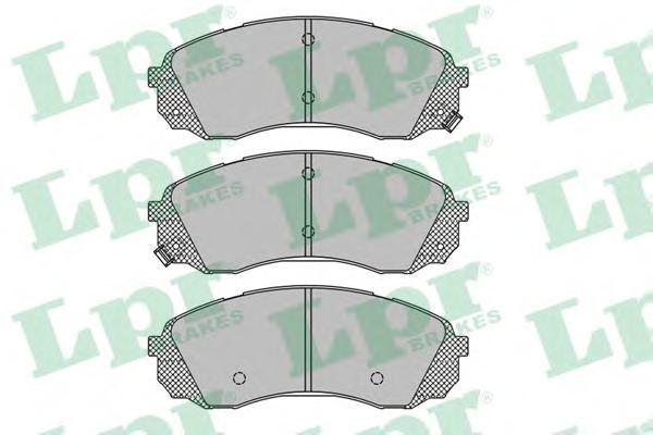 Колодки тормозные передние LPR / AP 05P145105P1451