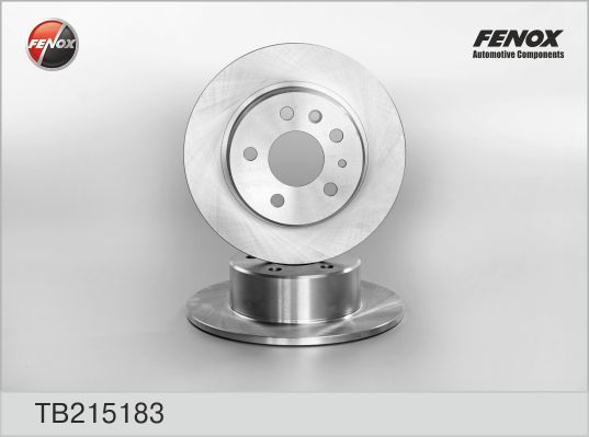 Диск тормозной Fenox TB215183 комплект 2 штTB215183