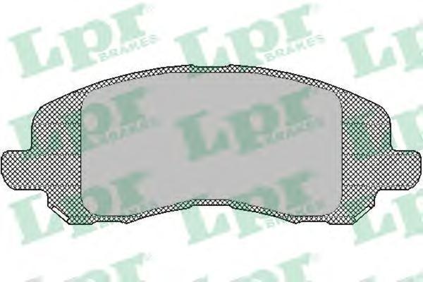 Колодки тормозные передние LPR / AP 05P143005P1430