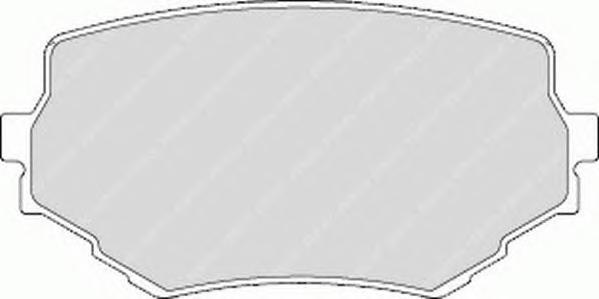 Колодки тормозные дисковые Premier Ferodo FDB1FDB1