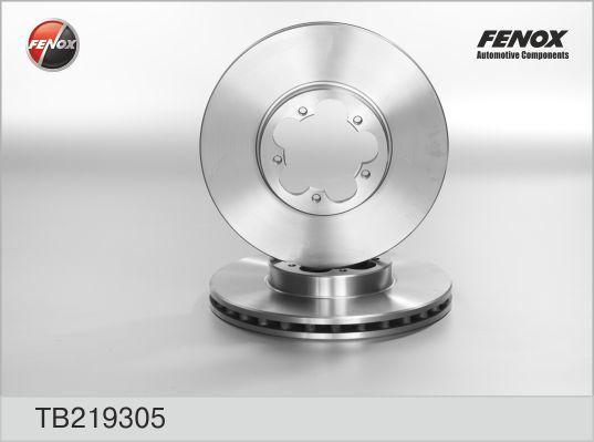 Диск тормозной Fenox TB219305 комплект 2 штTB219305