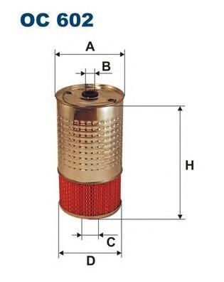 Фильтр масляный Filtron. OC602OC602