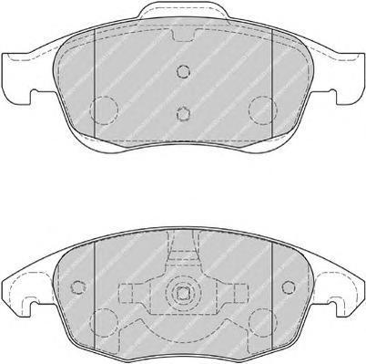 Колодки тормозные дисковые Premier Ferodo FDB1971FDB1971