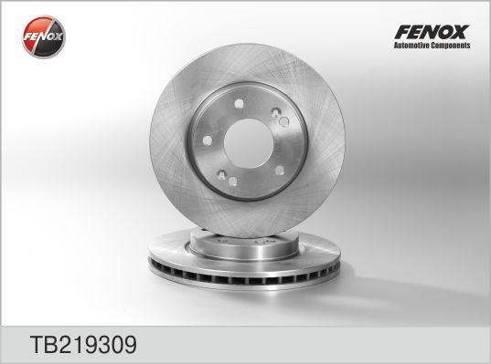 Диск тормозной Fenox TB219309 комплект 2 штTB219309