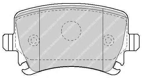 Колодки тормозные дисковые Premier Ferodo FDB1636FDB1636