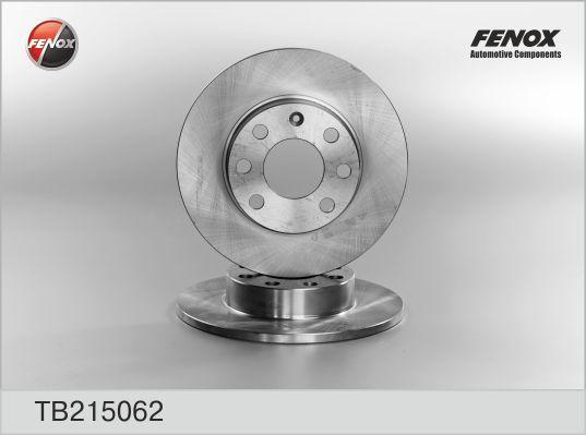 Диск тормозной Fenox TB215062 комплект 2 штTB215062