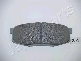 Колодки тормозные дисковые Japanparts PP221AFPP221AF