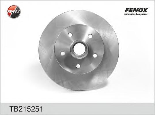 Диск тормозной Fenox TB215251TB215251