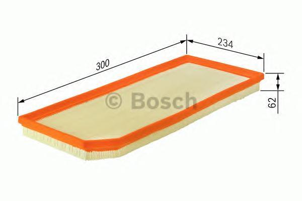 Фильтр воздушный Bosch F026400119F026400119
