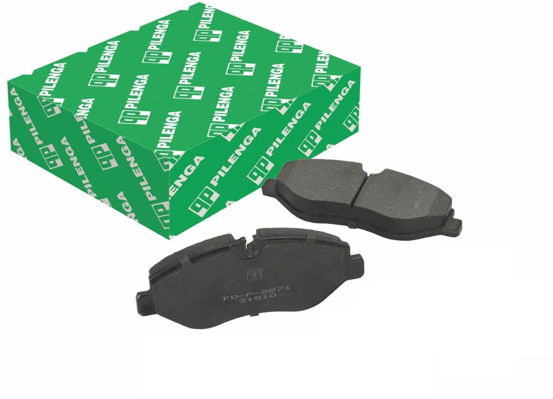 Колодки тормозные дисковые передние Pilenga FDP8871FDP8871