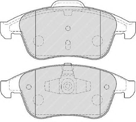 Колодки тормозные дисковые Premier Ferodo FDB4068FDB4068