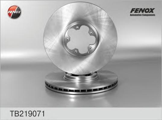 Диск тормозной Fenox TB219071 комплект 2 штTB219071