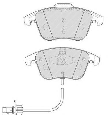 Колодки тормозные дисковые Premier Ferodo FDB4045FDB4045