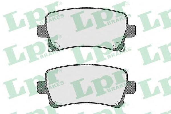 Колодки тормозные задние LPR / AP 05P158405P1584
