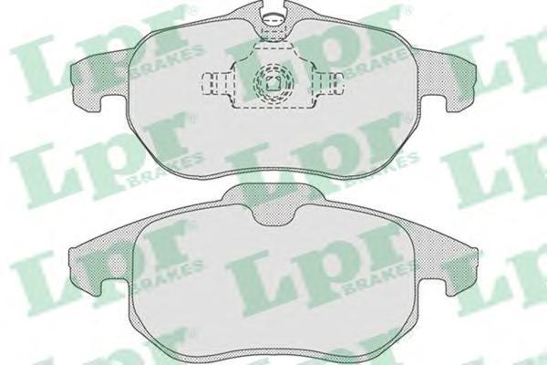 Колодки тормозные передниеLPR / AP 05P81405P814