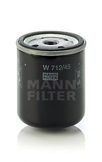 Фильтр масляный Mann-Filter W71245W71245