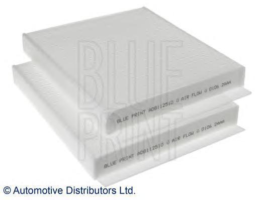 Фильтр салона BLUE PRINT ADB112510ADB112510