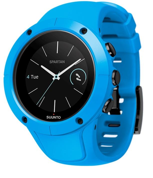 Спортивные часы Suunto Spartan Trainer Wrist Hr Blue, цвет: голубойSS023002000Спортивные часы Suunto Spartan Trainer Wrist Hr Blue - это отлично сидящие GPS-часы с превосходным дизайном, готовые к тренировкам по вашему велению: в плавании, в спортзале, на велосипеде или на пробежке.Оснащенные удобным запястным пульсометром часы Trainer отслеживают вашу активность и ведут подсчет калорий и шагов круглосуточно. Разнообразные спортивные и туристические режимы делают Spartan Trainer естественным напарником для выхода за границы, созданные городом, и границы ваших возможностей.Особенности изделия: Компактные и надежные! Срок работы от батареи до 10 ч с наивысшей точностью GPS (до 30 ч в экономном режиме). 14 дней в режиме показа времени. Удобное измерение пульса на запястье. Компактный размер и оптимальный стиль и для спортивной, и для повседневной одежды. Водонепроницаемость до 50 м.Для разнообразных тренировок в помещении и на природе! Встроенные виды спорта: плавание, бег, велосипед, спортзал, турпоход и так далее. Скорость, темп и расстояние по данным GPS. Настраиваемые спортивные режимы с графиками и автоматическими этапами. Создавайте интервалы на часах и следуйте указаниям на экране. Возвращайтесь домой по навигационной цепочке пройденного пути. Навигация по маршруту с интересующими пунктами (POI) и расчетным временем прибытия (ETA).Отслеживание активности и мобильные уведомления! Круглосуточное отслеживание количества шагов, калорий и сна. Отслеживайте показатель пульса в покое, чтобы знать, когда вы в стрессе илиперетренированы. Настраивайте свои часы с индивидуальными экранами. Получайте уведомления о звонках, сообщениях и событиях календаря на часах.Как начать бегать: советы тренера. Статья OZON Гид