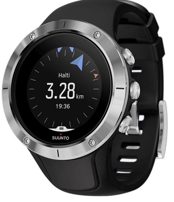 Спортивные часы Suunto  Spartan Trainer Wrist Hr Steel , цвет: черный - Умные часы