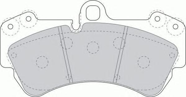 Ferodo Колодки тормозные дисковые Premier. FDB1625FDB1625