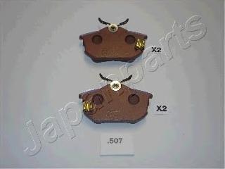 Колодки тормозные дисковые Japanparts PP507AFPP507AF
