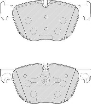 Ferodo Колодки тормозные дисковые Premier. FDB4052FDB4052