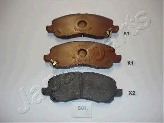 Колодки тормозные дисковые Japanparts PA501AFPA501AF